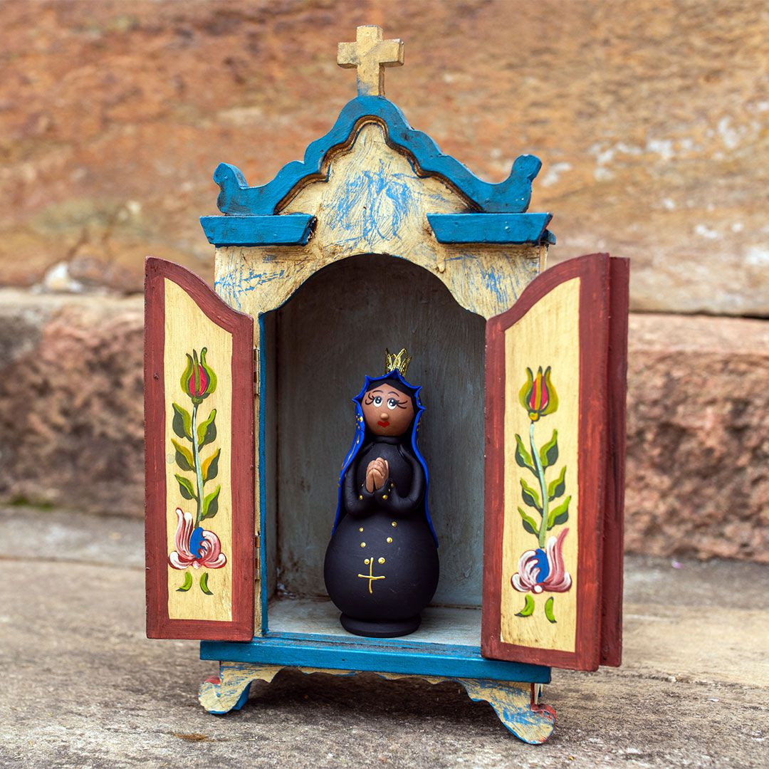 Oratório Capela em madeira