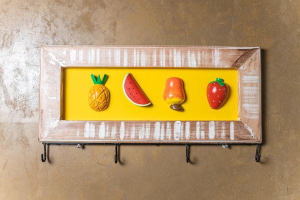 Porta chaves mix de frutas