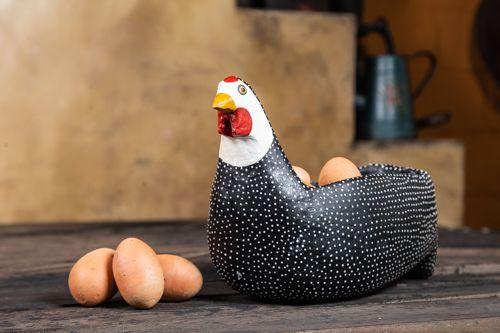 Porta Ovos em Madeira