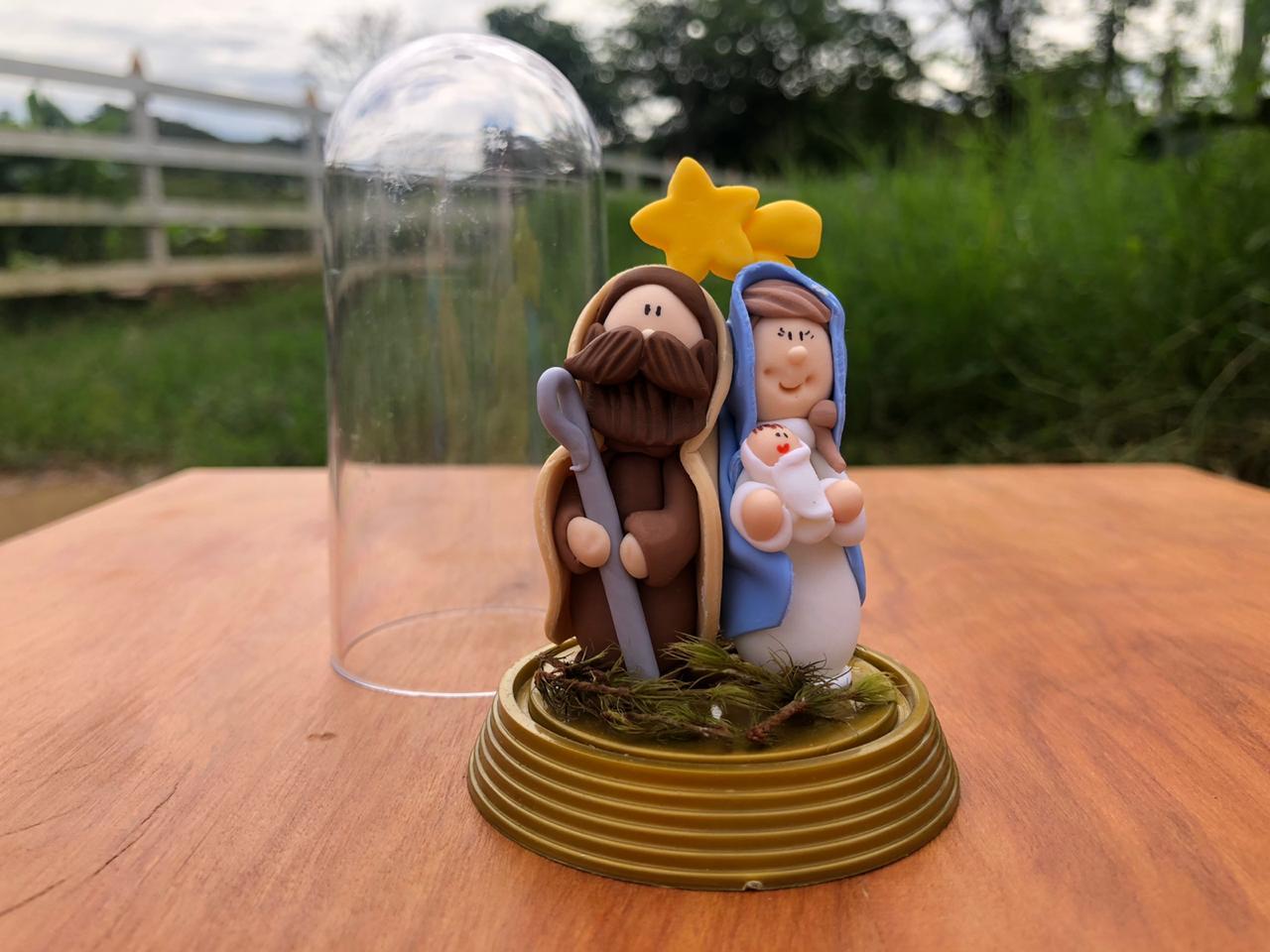 Presépio de Natal em Biscuit Encapsulado
