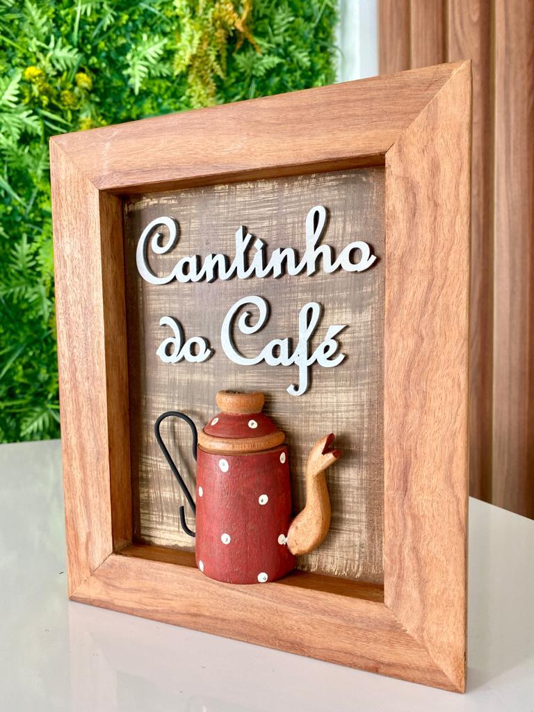 Quadro Cantinho do Café