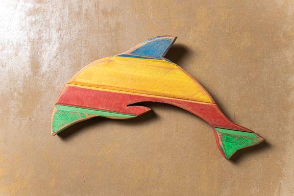 Quadro em formato animal - Golfinho