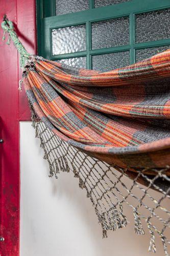 Rede algodão cores - Cinza