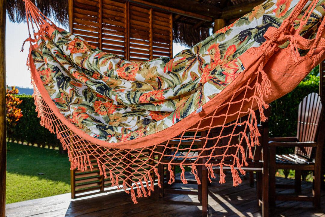 Rede Gorgurão Laranja Clara Tropical