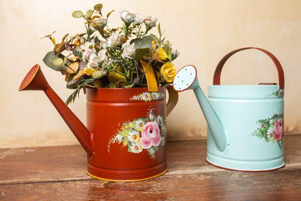 Regador floral - cachepô