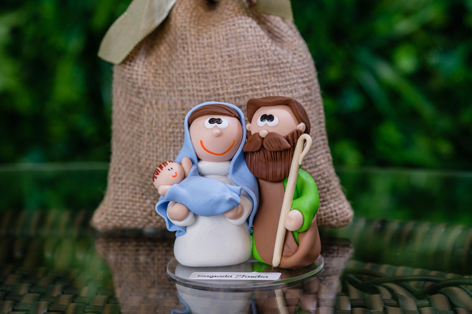 Sagrada Família em Biscuit