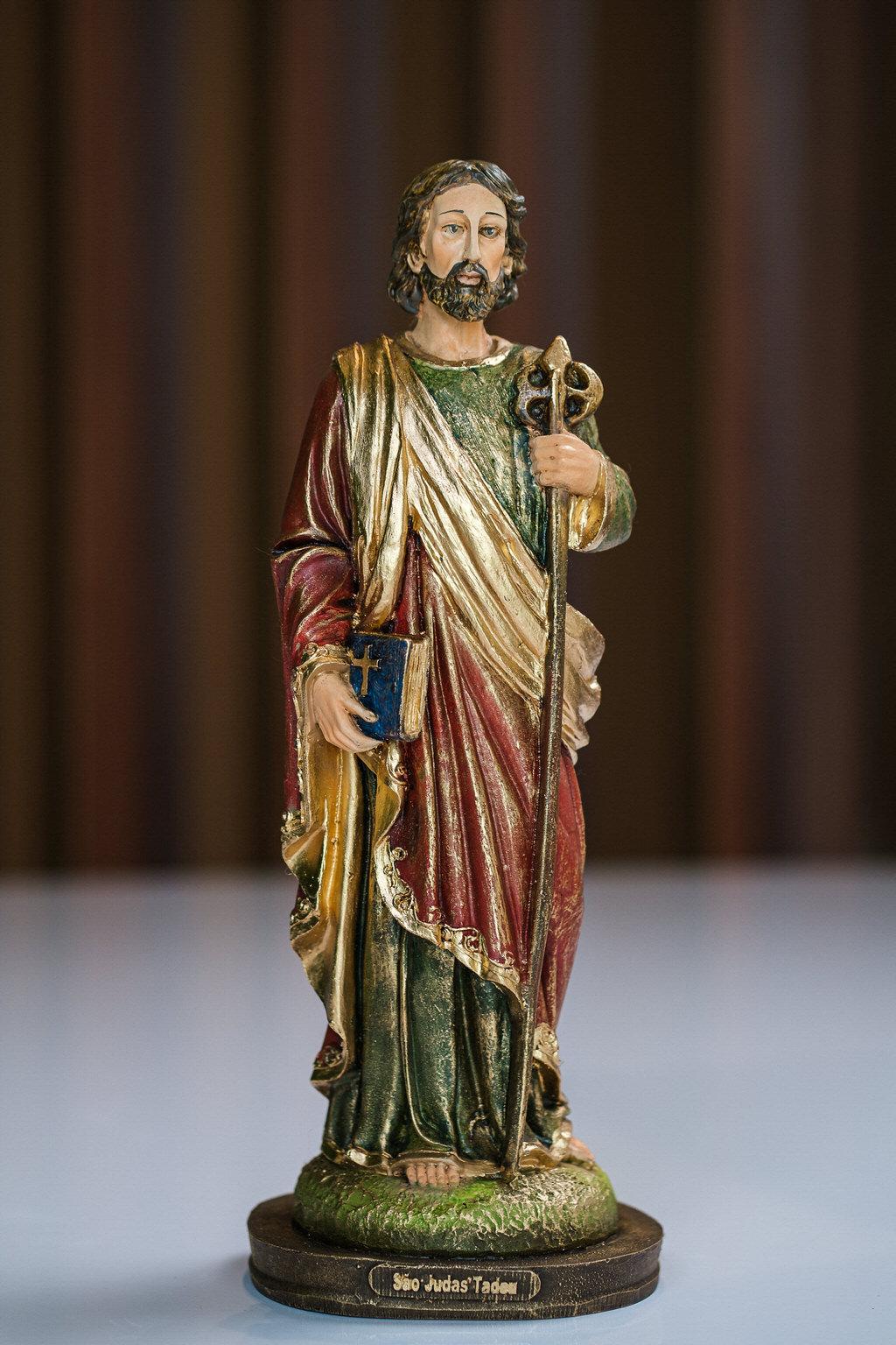 São Judas Tadeu em Resina - 30 cm