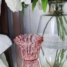 Vaso marsala em vidro