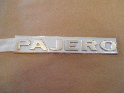 Emblema Pajero Tampa Estepe Pajero Full 2001 A 2007 Paralelo