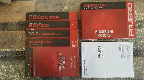 Manual Proprietario Mitsubishi Pajero Full 2009