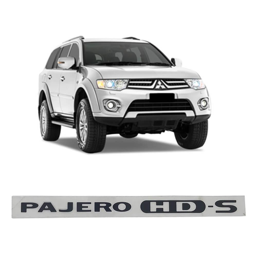 Emblema Pajero Dakar HD-S Preto CA511797
