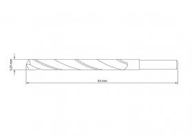 Broca Para Aço 3.25x65 mm Tramontina Pro 43141116