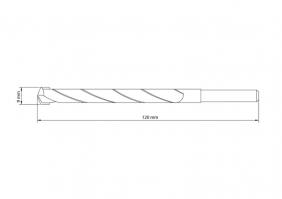 Broca Para Concreto 9x120 mm Tramontina Pro Aço Especial Com Acabamento Jateado 43142109