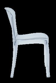 Cadeira Tramontina Anna em Policarbonato Transparente 92 Tramontina 92033011