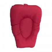Almofada de Banho Vermelho - Cuca Criativa REF 550008