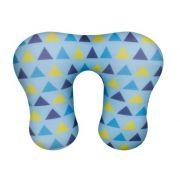 Almofada de Pescoço p Azul Triangulo - Fom Ref Cax 00420