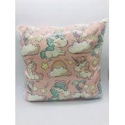 Almofada Decorativa Mini Unicórnios - Nsw Decor