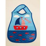 Babador Barco Azul - Pais e Filhos Ref 7864