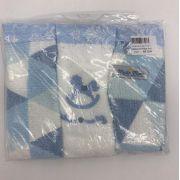 Babetes de Felpa Azul - m Mimo Minasrey Ref 5744