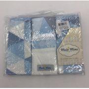 Babetes de Felpa Cavalinho Azul - m Mimo Minasrey Ref 5737