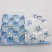 Babetes Fralda 2 un Cavalinho Azul - m Mimo Minasrey Ref 5695