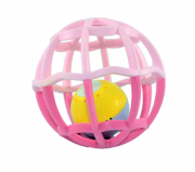 Baby Ball Luz e Som Rosa -  Buba Ref5848