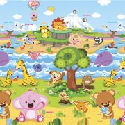Baby Play Mat Médio Animal Friends 1,85 x 1,25 - Safety 1st