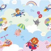 Tapete Baby Play Mat Médio i Love Sky 1,85x1,25 - Safety 1st
