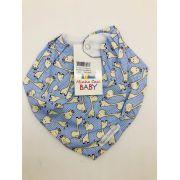 Bandana Azul Girafa - Minha Casa Baby Ref Bab101