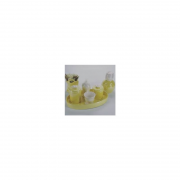 Bandeja de Porcelana Oval Amarelo 1 UND - Rossi Niero