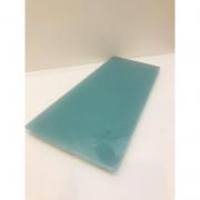 Bandeja Pequena Vidro Azul - Rossi Niero