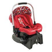 Bebê Conforto Caracol Vermelho Píxel Com Base - Kiddo Ref 411vx