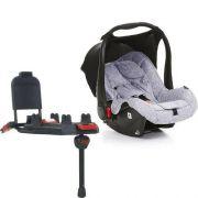 Bebê Conforto Risus Graphite Grey + Base Isofix (Sem Adaptadores) - ABC Design