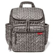 Bolsa Maternidade Forma Blackpack Grey Feather - Skip Hop Ref 200376