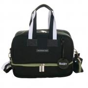 Bolsa Vicky Preto/Oliva Move - Masterbag