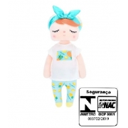 Boneca Metoo Angela Abacaxi 33 cm - Metoo Ref 3001