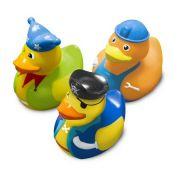 Brinquedos Banho Patos Fantasia 3u - Comtac Ref 4088