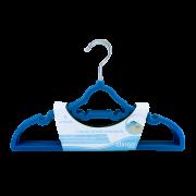 Cabides Infantil Aveludado Carrinho Azul Escuro - Clingo Ref C0005