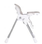 Cadeira de Alimentação Smile Cinza - Kiddo Ref 1036acz