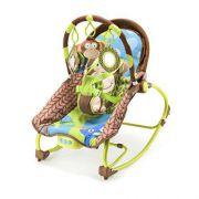 Cadeira Balanço Para Bebes 0-20 kg Macaco - Multikids Bb365