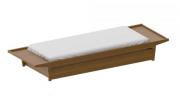 Cama Eco madeira - Cia do Móvel