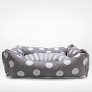 Cama Puppy Dog Cinza Bubble - Masterbag