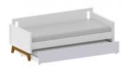 Cama Sofá Retrô Plus Branco - Cia do Móvel