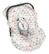 Capa Bebe Conforto e Protetor de Cinto Elephant - Batistela 02063