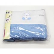 Capa De Carrinho Urso Azul - Minha Casa Baby Ref CCR5061