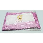 Capa para Carrinho Rosa Liso - Minasrey Baby Ref1528