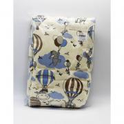 Capa Protetor Para Bebe Conforto Creme Bichos Suedine - D Bella Ref Est 2297 001U