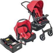 Carrinho de Bebê Travel System Ecco Red + Base - Burigotto