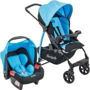 Carrinho de Bebê Travel System Ecco + Touring Evolution Se Iris - Burigotto