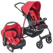 Carrinho de Bebê Travel System Ecco + Touring Evolution Se Red - Burigotto